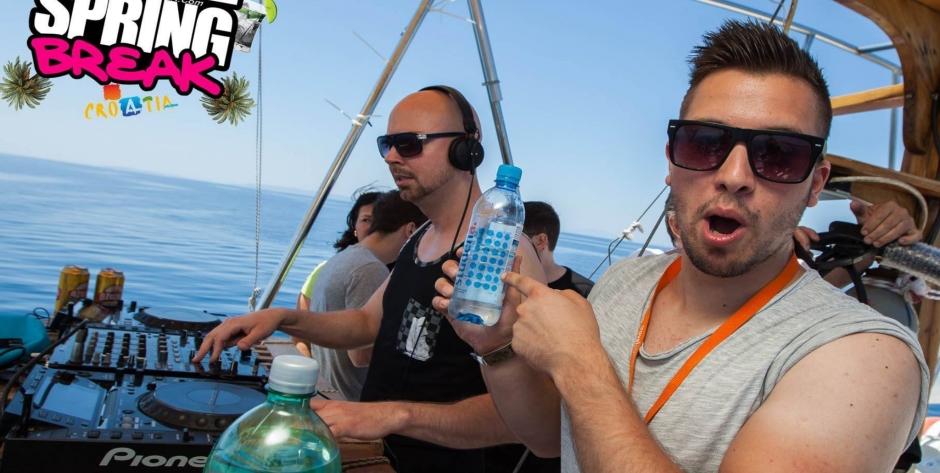 Rubin @ Boat Party - Zrce Spring Break 2015