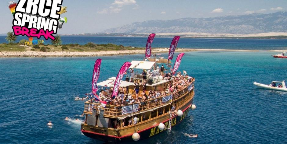 Boat Party - Zrce Spring Break 2015